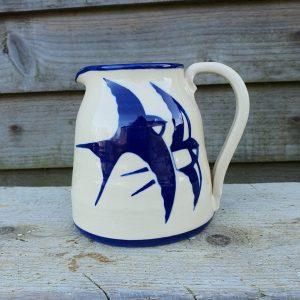 Swallows milk jug